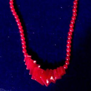 Jewelry - Red Agate Necklace